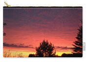 Red And Orange June Dawn Sky Carry-all Pouch