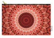 Red And Orange Mandala Carry-all Pouch