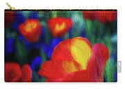 Red And Orange Tulips Carry-all Pouch