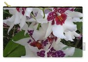 Red And Purple Orchids Carry-all Pouch