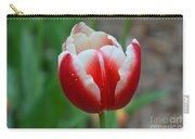 Red And White Bloom Carry-all Pouch