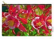 Red And White Columbine At Pilgrim Place In Claremont-california Carry-all Pouch