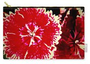 Red And White Mum Carry-all Pouch