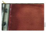 Red And White Stripe Carry-all Pouch