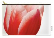Red And White Tulip Carry-all Pouch
