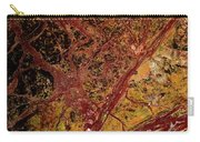 Red And Yellow Abstract Carry-all Pouch