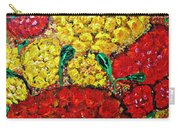 Red And Yellow Garden Carry-all Pouch