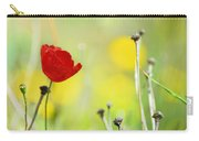 Red And Yellow Carry-all Pouch by Guido Montanes Castillo