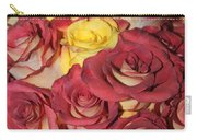 Red And Yellow Roses Carry-all Pouch