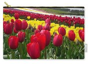Red And Yellow Tulip Fields Carry-all Pouch