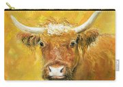 Red Angus Cow Carry-all Pouch