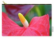 Red Anthurium Flower Carry-all Pouch