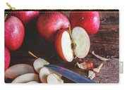 Red Apple Slices Carry-all Pouch