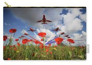 Red Arrows Poppy Fly Past Carry-all Pouch
