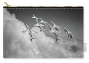 Red Arrows Sky High Bw Version Carry-all Pouch