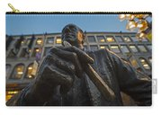 Red Auerbach Chilling At Fanueil Hall Carry-all Pouch