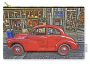 Red Morris Minor Carry-all Pouch