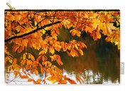 Red Autumn Leaves 2 Carry-all Pouch