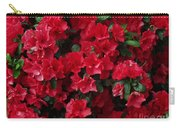 Red Azalea Blooms Carry-all Pouch