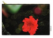 Red Azalea Carry-all Pouch