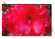 Red Azaleas Flowers 4 Red Azalea Garden Giclee Art Prints Baslee Troutman Carry-all Pouch