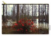 Red Azaleas In The Swamp Carry-all Pouch