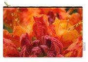 Red Azaleas Orange Azalea Flowers 9 Floral Giclee Art Prints Baslee Troutman Carry-all Pouch