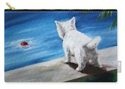 Red Ball Carry-all Pouch by Mary Sparrow
