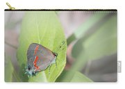 Red-banded Hairstreak Butterfly Carry-all Pouch
