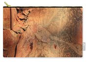 Red Bark Nature Abstract Carry-all Pouch