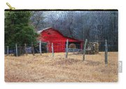 Red Barn A Long The Way Carry-all Pouch