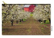 Red Barn Avenue Carry-all Pouch by Mike  Dawson