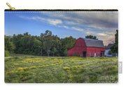 Red Barn In A Yellow Field  Carry-all Pouch
