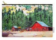 Red Barn In Autumn Carry-all Pouch