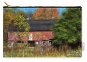 Red Barn In October Carry-all Pouch