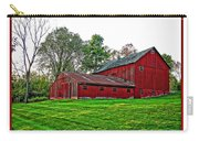 Red Barn In Ohio Carry-all Pouch