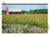 Red Barn In Pasture Carry-all Pouch