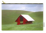 Red Barn In Spring Carry-all Pouch