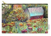 Red Barn In Summer Carry-all Pouch
