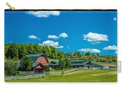 Red Barn On Hoyt Road Carry-all Pouch