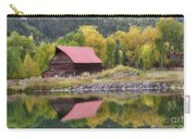 Red Barn Reflections Carry-all Pouch