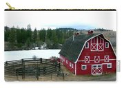 Red Barn Carry-all Pouch by Will Borden