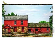 Red Barn With Fence Carry-all Pouch