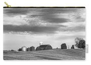 Red Barns Bw Carry-all Pouch