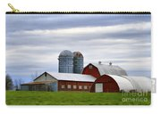 Red Barns Of 3 Carry-all Pouch