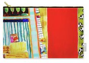 Red Barnyard Carry-all Pouch