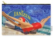 Red Bathing Suit Carry-all Pouch