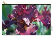 Red Bearded Iris Photograph Carry-all Pouch