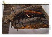 Red Beetle At Twlight Carry-all Pouch