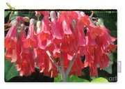 Red Bell Flowers. Sunny Spring Carry-all Pouch